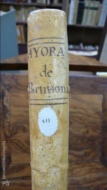 Libros antiguos: TRACTATUS DE PARTITIONIBUS BONORUM: UBI DE FRUCTIBUS… ANTONII AIERVE DE AIORA. 1766. - Foto 2 - 57437941