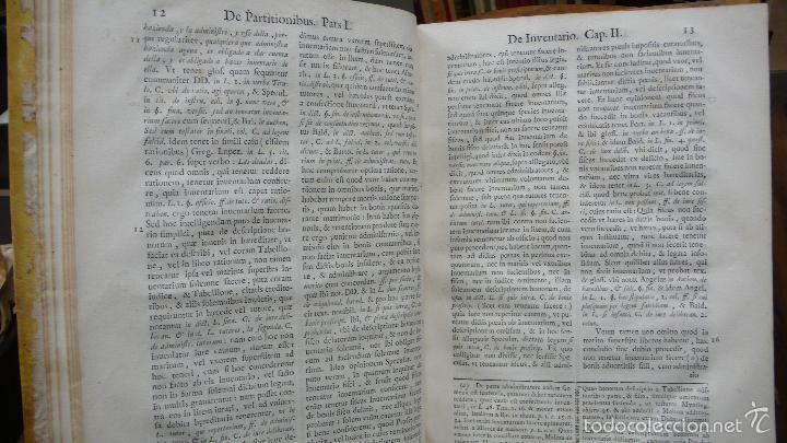 Libros antiguos: TRACTATUS DE PARTITIONIBUS BONORUM: UBI DE FRUCTIBUS… ANTONII AIERVE DE AIORA. 1766. - Foto 3 - 57437941