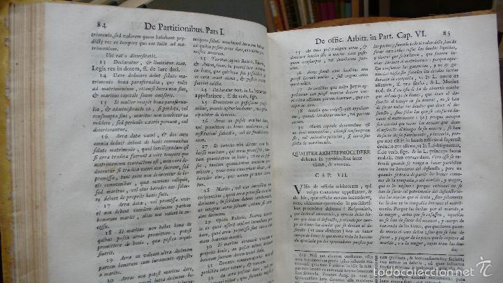 Libros antiguos: TRACTATUS DE PARTITIONIBUS BONORUM: UBI DE FRUCTIBUS… ANTONII AIERVE DE AIORA. 1766. - Foto 4 - 57437941