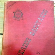 Libros antiguos: RECUERDOS GADITANOS .- DON JOSÉ MARÍA LEÓN Y DOMÍNGUEZ (TEMA LOCAL CÁDIZ). Lote 57438093
