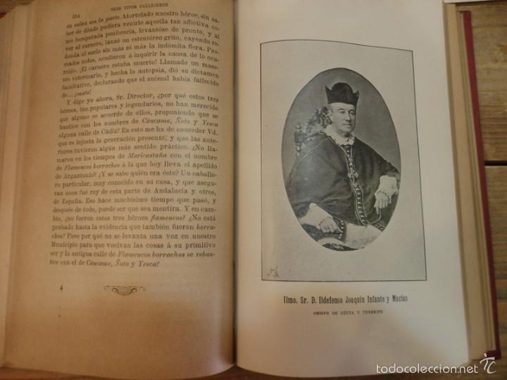 Libros antiguos: RECUERDOS GADITANOS .- DON JOSÉ MARÍA LEÓN Y DOMÍNGUEZ (TEMA LOCAL CÁDIZ) - Foto 4 - 57438093