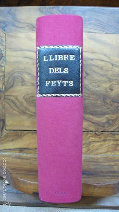 Libros antiguos: LIBRE DELS FEYTS ESDEVENGUTS EN LA VIDA… JAUME I. 1872. - Foto 2 - 57450612
