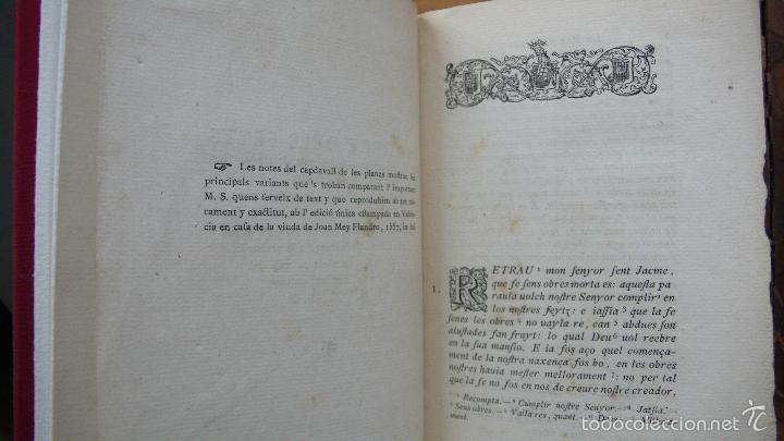 Libros antiguos: LIBRE DELS FEYTS ESDEVENGUTS EN LA VIDA… JAUME I. 1872. - Foto 3 - 57450612