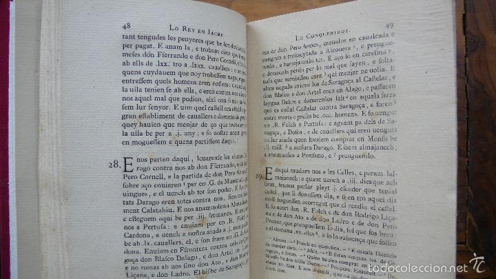 Libros antiguos: LIBRE DELS FEYTS ESDEVENGUTS EN LA VIDA… JAUME I. 1872. - Foto 4 - 57450612