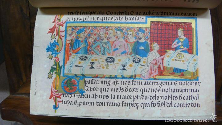 Libros antiguos: LIBRE DELS FEYTS ESDEVENGUTS EN LA VIDA… JAUME I. 1872. - Foto 5 - 57450612