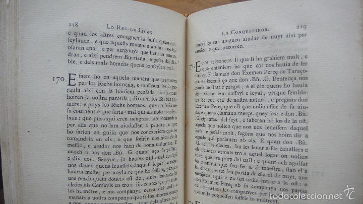 Libros antiguos: LIBRE DELS FEYTS ESDEVENGUTS EN LA VIDA… JAUME I. 1872. - Foto 6 - 57450612