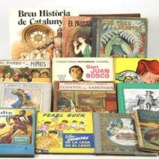 Libros antiguos: 7641 - LOTE DE 13 EJEMPLARES. VARIAS EDITORIALES(VER DESCRIP). VV. AA. 1918-1981.. Lote 57453310