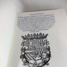 Libros antiguos: LIBRO QUARTO DE LA ÍNCLITA Y CORONADA CIUDAD DE VALENCIA. Lote 57482545