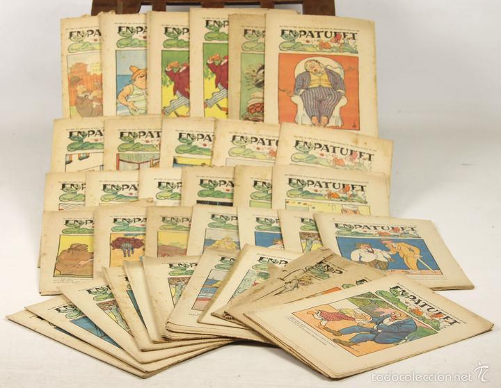 7645 - PUBLICACIONES EN PATUFET. 169 EJEM. (VER DESCRIP). EDI. J. ROCA-HNOS BAGUÑÁ. 1918-1969. (Libros Antiguos, Raros y Curiosos - Literatura Infantil y Juvenil - Otros)