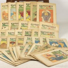 Libros antiguos: 7645 - PUBLICACIONES EN PATUFET. 169 EJEM. (VER DESCRIP). EDI. J. ROCA-HNOS BAGUÑÁ. 1918-1969.. Lote 218347858