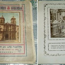 Libros antiguos: CRÓNICA DE LAS FIESTAS DEL 26 DE MAYO DE 1927 GRANADA CRÓNICA DE LA TOMA DE POSESIÓN DE LA CASA DE L. Lote 57485579