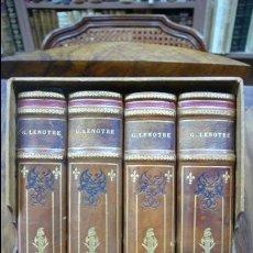 Libros antiguos: VIEILLES MAISONS, VIEUX PAPIERS. G. LENOTRE. 1908-1910. 4 VOL.. Lote 89038636