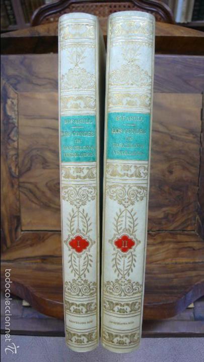 . LOS CONDES DE BARCELONA VINDICADOS… P. DE BOFARULL Y MASCARÓ. 2 VOL. 1836. (Libros Antiguos, Raros y Curiosos - Historia - Otros)
