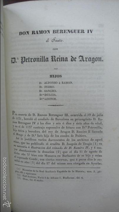 Libros antiguos: . LOS CONDES DE BARCELONA VINDICADOS… P. DE BOFARULL Y MASCARÓ. 2 VOL. 1836. - Foto 9 - 57486571