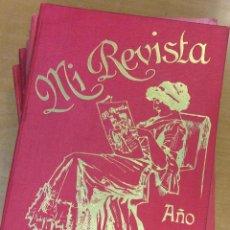Libros antiguos: MI REVISTA. DEL AÑO 1911 AL 1919. 9 AÑOS COMPLETOS. ENCUADERNACION ORIGINAL. . Lote 57489627
