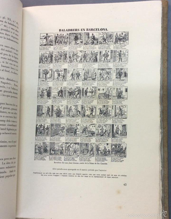 Libros antiguos: LES AUQUES. JOAN AMADES. 1931. 2 TOMOS. EDICIÓN NUMERADA. BIBLIOFILIA. - Foto 4 - 57490282