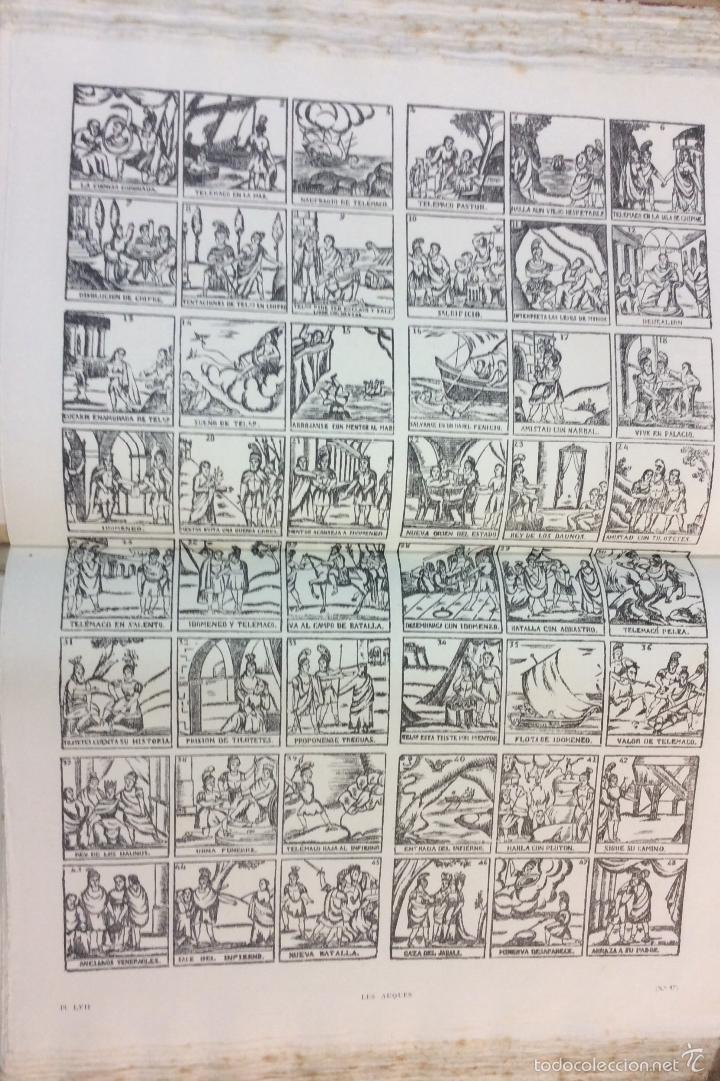Libros antiguos: LES AUQUES. JOAN AMADES. 1931. 2 TOMOS. EDICIÓN NUMERADA. BIBLIOFILIA. - Foto 11 - 57490282
