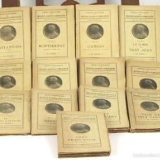 Libros antiguos: 7647 - OBRES COMPLETES DE M. JACINTO VERDAGUER. 13 VOLUM(VER DESCRIP). EDI. IL. CATALANA. . Lote 57504695