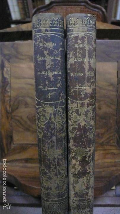 Libros antiguos: HISTORIA MILITAR Y POLÍTICA DEL GENERAL DON JUAN PRIM... FRANCISCO GIMENEZ Y GUITED. 2 VOLS. 1860. - Foto 2 - 57505637