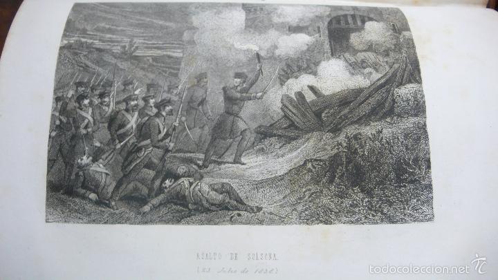 Libros antiguos: HISTORIA MILITAR Y POLÍTICA DEL GENERAL DON JUAN PRIM... FRANCISCO GIMENEZ Y GUITED. 2 VOLS. 1860. - Foto 5 - 57505637