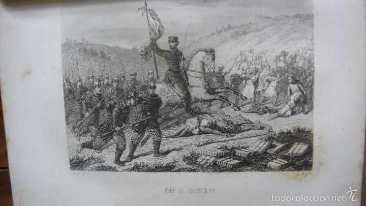 Libros antiguos: HISTORIA MILITAR Y POLÍTICA DEL GENERAL DON JUAN PRIM... FRANCISCO GIMENEZ Y GUITED. 2 VOLS. 1860. - Foto 7 - 57505637