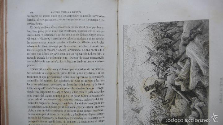 Libros antiguos: HISTORIA MILITAR Y POLÍTICA DEL GENERAL DON JUAN PRIM... FRANCISCO GIMENEZ Y GUITED. 2 VOLS. 1860. - Foto 9 - 57505637