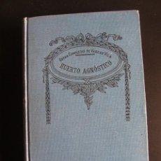Libros antiguos: VARGAS VILA. Nº21 DE LAS OBRAS COMPLETAS. HUERTO AGNÓSTICO.ED. SOPENA.. Lote 57524508