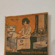 Libros antiguos: LOTE DE 8 DE MANUAL PRACTICO EDIT. CULTURA. Lote 57548802