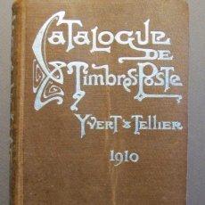 Libros antiguos: CATÁLOGO DE SELLOS. PARÍS 1910. Lote 57563525
