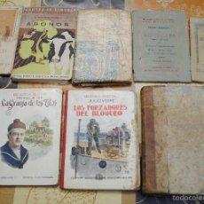 Libros antiguos: LOTE DE 8 LIBROS DIFERENTES, FINALES DE 1800 PRINCIPIOS DE 1900.. Lote 57578554