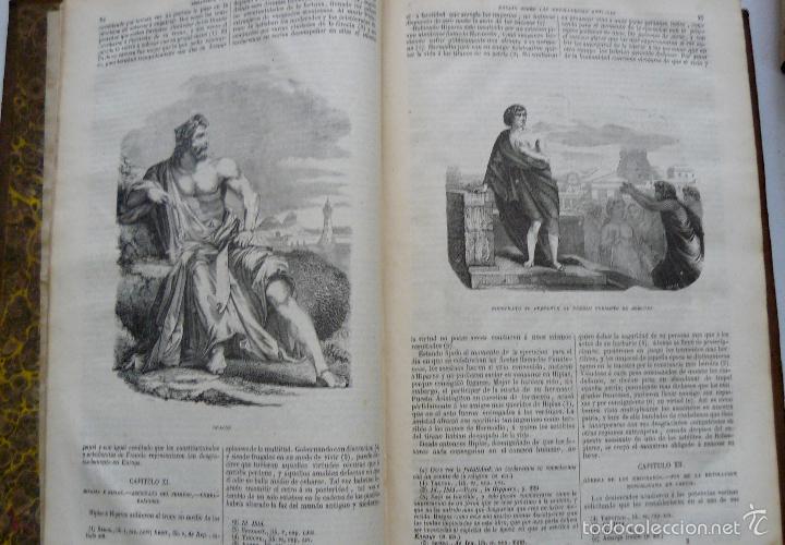 Libros antiguos: OBRAS DE CHATEAUBRIAND BIBLIOTECA DE GASPAR Y ROIG MADRID 1855 CUATRO TOMOS COMPLETAS - Foto 2 - 57588618
