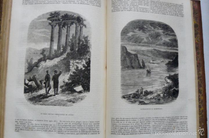 Libros antiguos: OBRAS DE CHATEAUBRIAND BIBLIOTECA DE GASPAR Y ROIG MADRID 1855 CUATRO TOMOS COMPLETAS - Foto 3 - 57588618