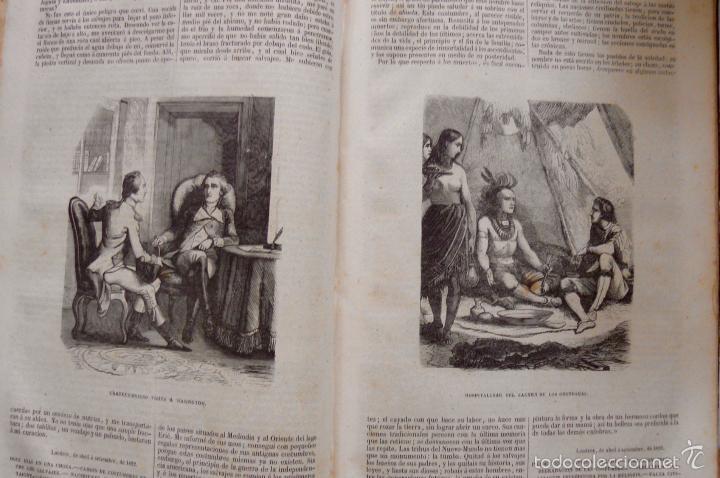 Libros antiguos: OBRAS DE CHATEAUBRIAND BIBLIOTECA DE GASPAR Y ROIG MADRID 1855 CUATRO TOMOS COMPLETAS - Foto 10 - 57588618