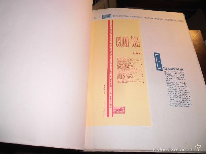 Libros antiguos: BARCELONA LIBRO ANTIGUO BADAR ESTUDIO BASE ECONOMIA DESARROLLO .40 PAGINAS - Foto 2 - 27225426