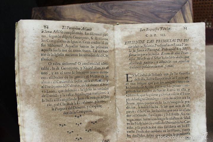 Libros antiguos: EL PEREGRINO ATLANTE. S. FRANCISCO XAVIER APOSTOL DEL ORIENTE... FRANCISCO DE LA TORRE. 1731. - Foto 5 - 57615107
