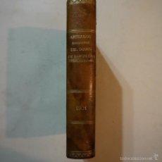 Libros antiguos: ARTÍCULOS ESCOGIDOS DEL DIARIO DE BARCELONA - 1901. Lote 57618417