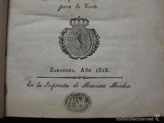 Libros antiguos: MANIFIESTO DE ZARAGOZA-IMPRENTA MARIANO MIEDES- ZARAGOZA 1828 - ORIGINAL-VER GRABADO -(XL-16) - Foto 3 - 57643668