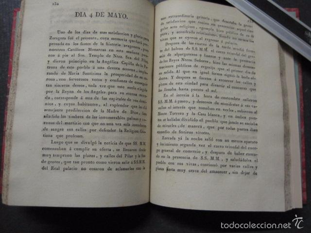 Libros antiguos: MANIFIESTO DE ZARAGOZA-IMPRENTA MARIANO MIEDES- ZARAGOZA 1828 - ORIGINAL-VER GRABADO -(XL-16) - Foto 9 - 57643668
