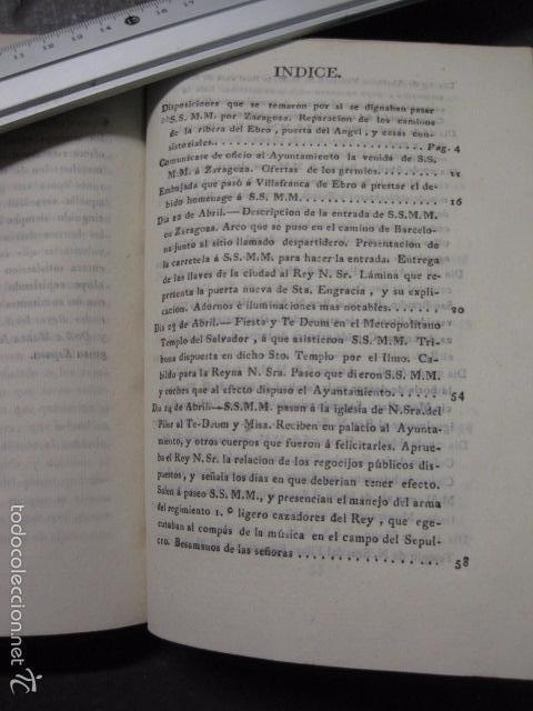 Libros antiguos: MANIFIESTO DE ZARAGOZA-IMPRENTA MARIANO MIEDES- ZARAGOZA 1828 - ORIGINAL-VER GRABADO -(XL-16) - Foto 11 - 57643668