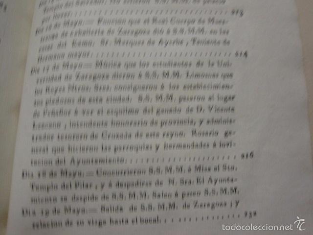 Libros antiguos: MANIFIESTO DE ZARAGOZA-IMPRENTA MARIANO MIEDES- ZARAGOZA 1828 - ORIGINAL-VER GRABADO -(XL-16) - Foto 12 - 57643668