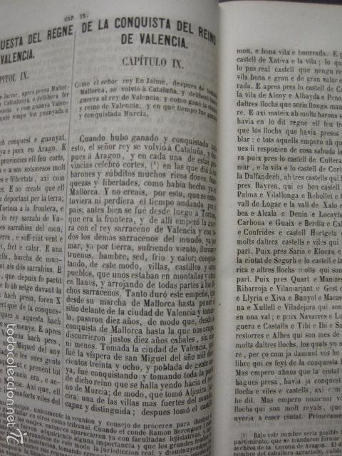 Libros antiguos: CRONICA CATALANA RAMON MUNTANER-ANTONIO BOFARULL-JAIME JEPUS -BARCELONA 1860- VER FOTOS-(XL-17 - Foto 7 - 57644028