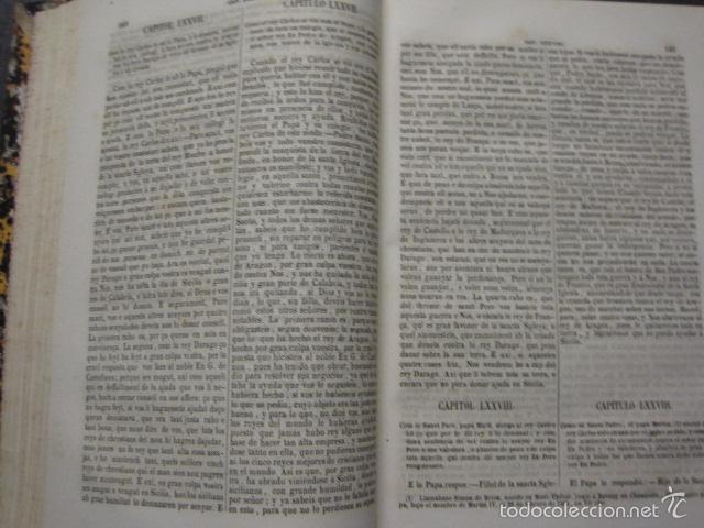 Libros antiguos: CRONICA CATALANA RAMON MUNTANER-ANTONIO BOFARULL-JAIME JEPUS -BARCELONA 1860- VER FOTOS-(XL-17 - Foto 8 - 57644028