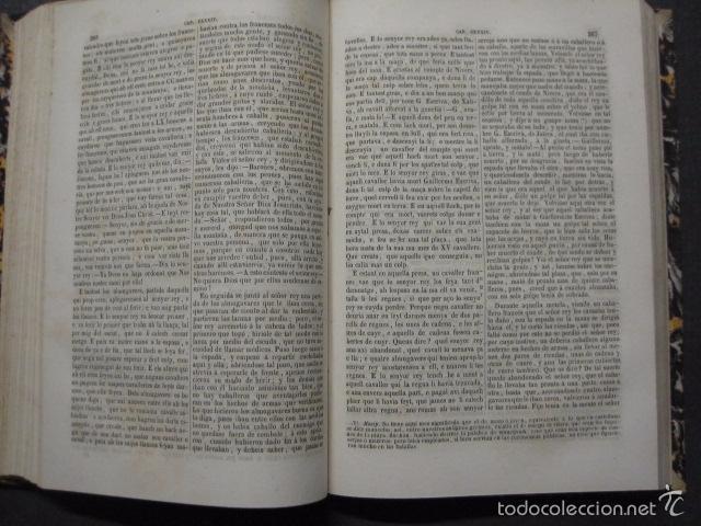 Libros antiguos: CRONICA CATALANA RAMON MUNTANER-ANTONIO BOFARULL-JAIME JEPUS -BARCELONA 1860- VER FOTOS-(XL-17 - Foto 11 - 57644028