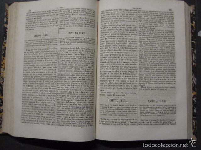 Libros antiguos: CRONICA CATALANA RAMON MUNTANER-ANTONIO BOFARULL-JAIME JEPUS -BARCELONA 1860- VER FOTOS-(XL-17 - Foto 12 - 57644028
