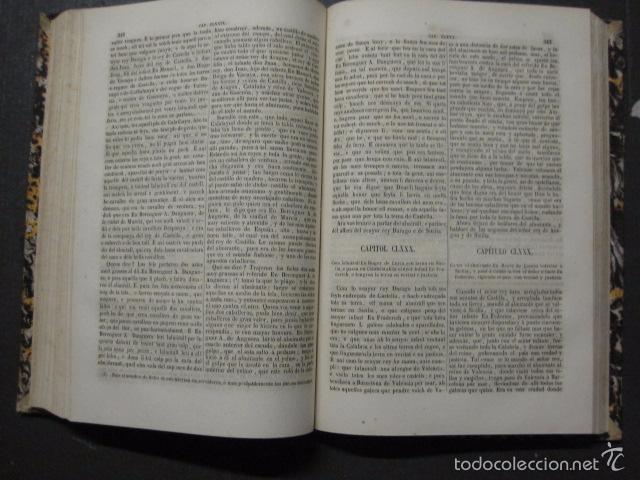 Libros antiguos: CRONICA CATALANA RAMON MUNTANER-ANTONIO BOFARULL-JAIME JEPUS -BARCELONA 1860- VER FOTOS-(XL-17 - Foto 13 - 57644028