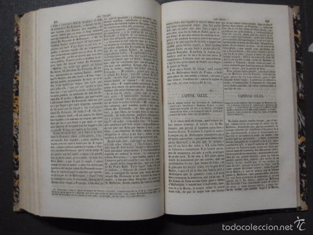 Libros antiguos: CRONICA CATALANA RAMON MUNTANER-ANTONIO BOFARULL-JAIME JEPUS -BARCELONA 1860- VER FOTOS-(XL-17 - Foto 16 - 57644028