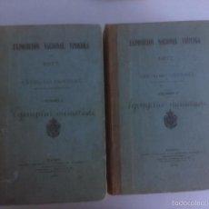 Libri antichi: EXPOSICION NACIONAL VINICOLA DE 1877. CATALOGO GENERAL. (2 TOMOS). Lote 57651948