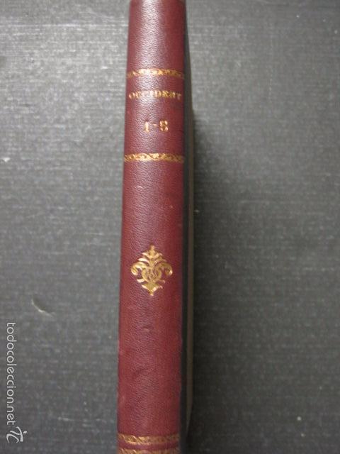 Libros antiguos: OCCIDENT - REVISTA CATALANA EN EL EXILIO-MAIG 1940 A MAIG 1950-DIBUJO DE DALI -VER FOTOS -(XL-20) - Foto 17 - 57654974