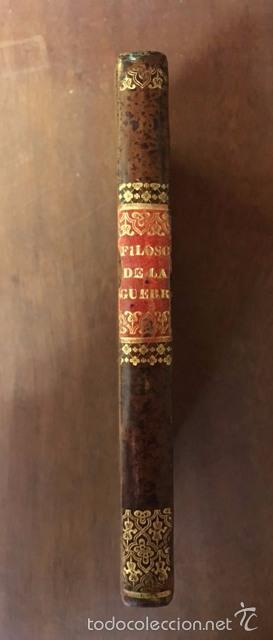HENRY LLOYD - LA FILOSOFÍA DE LA GUERRA - CÁDIZ - 1813 - PRINCIPIES THE ART OF WAR - 1ª ED. ESPAÑOLA (Libros Antiguos, Raros y Curiosos - Pensamiento - Otros)