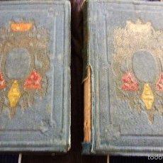 Libros antiguos: GUY MANNERING EL ASTROLOGO . EL OFICIAL AVENTURERO . WALTER SCOTT 2 TOMOS 1858 . Lote 57685172